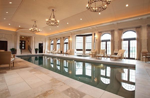 schwimmbecken zu hause luxuriös