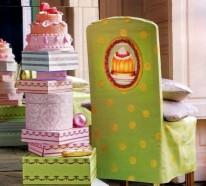 Schicke Stuhlhussen für Ihre Küche