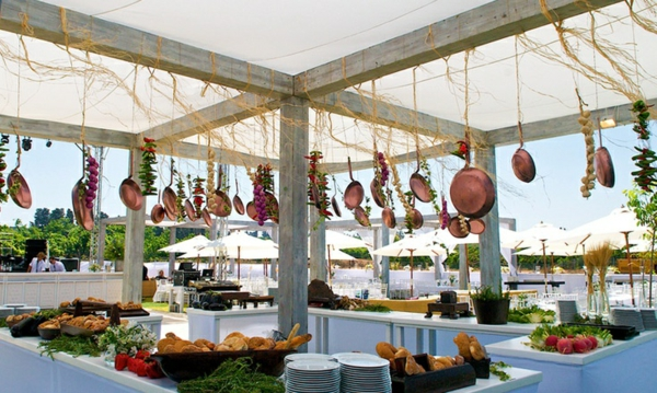 pfannen hängende dekoration