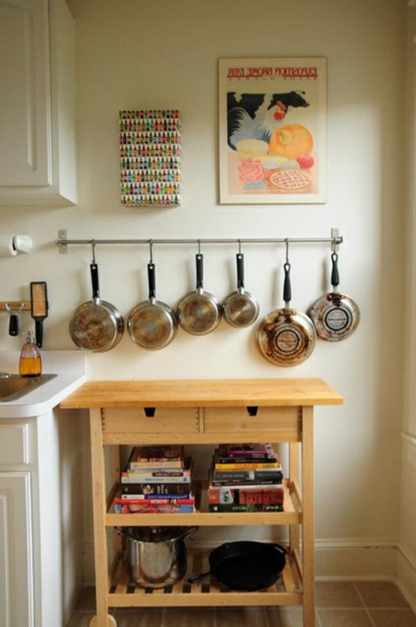pfannen küchenkommode helles holz