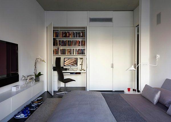 teenagerzimmer ideen moderne einrichtung weiß grau