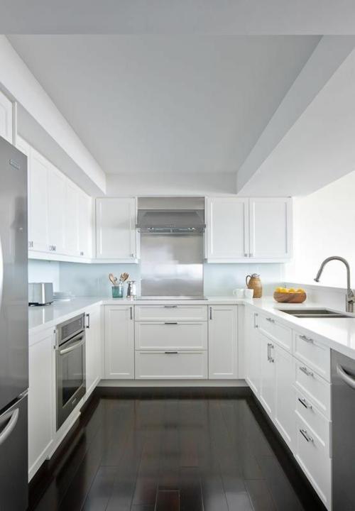 Modernes design für ihre u form küche