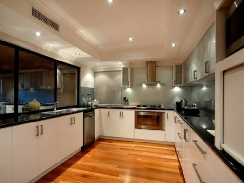 Weisse Küche Hochglanz ist tolle stil für ihr haus design ideen