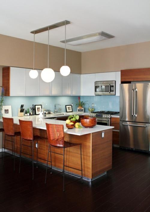 U-Form Küche - 35 Designideen für Ihre moderne Kücheneinrichtung   {Küchen modern u-form 16}