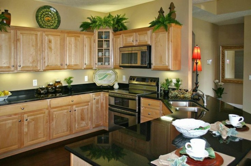 ergonomische küche schranksystem helles holz