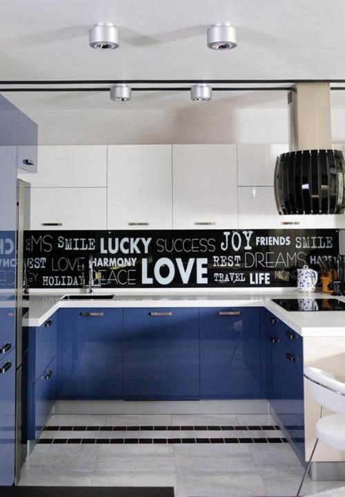 u form k che 35 designideen f r ihre moderne k cheneinrichtung. Black Bedroom Furniture Sets. Home Design Ideas