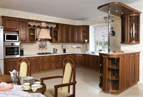 ergonomische küche vitrinenschränke einbauleuchten