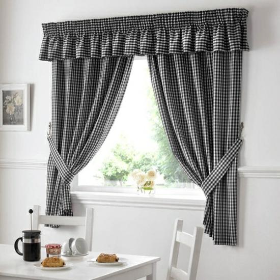 Vichy karo stoffe f r ein gem tliches ambiente mit vintage - Lazos para cortinas ...