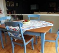 Vintage Tische für die Küche