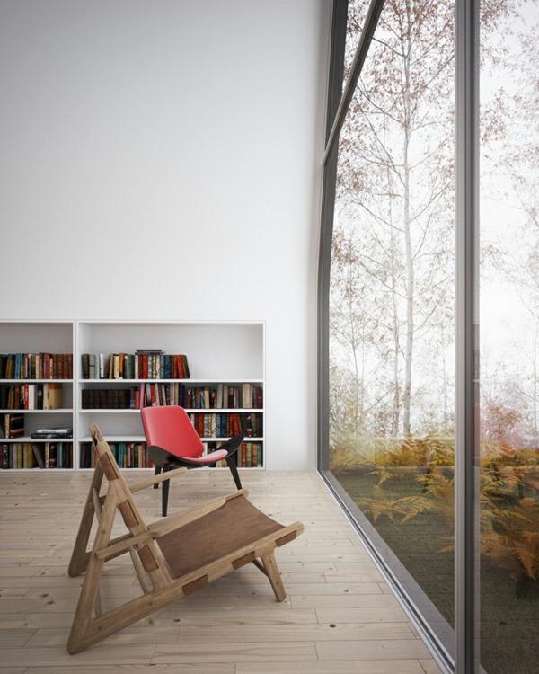 wohnung verschönern panoramafenster