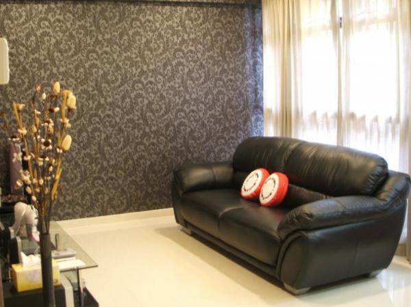 Die perfekte wohnzimmer tapete wie sie die richtige for Wallpaper for drawing room