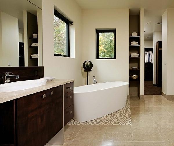 Gr E Badewanne heißes bad freistehende badewannen bieten entspannung