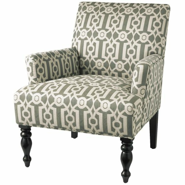 Stylischer Sessel Mit Nieten Und Geometrischem 11