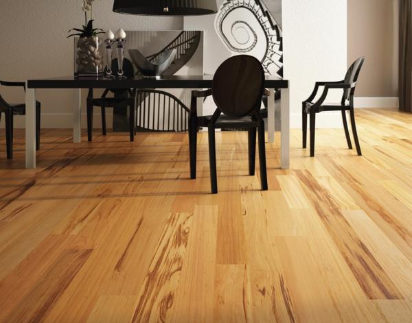 Bodenbelag  Massivholz esstisch stühle klassisch esszimmer