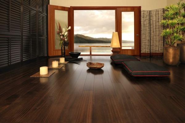 Bodenbelag  Massivholz spa entspannend atmosphäre meditation