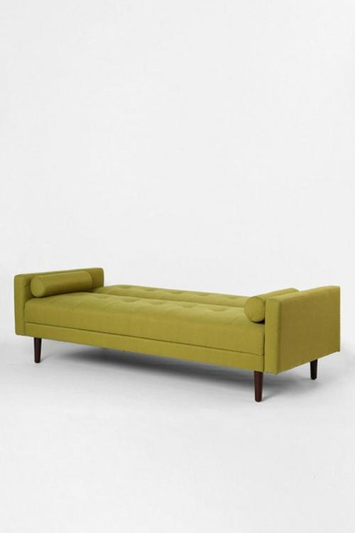 Chaiselongue und Schlafcouch ohne olivengrün