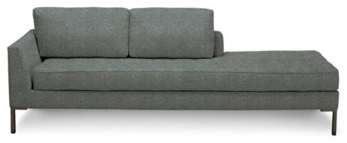 coole chaiselongue und schlafcouch als erg nzende einrichtungsidee. Black Bedroom Furniture Sets. Home Design Ideas
