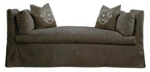 Chaiselongue und Schlafcouch ohne rückenlehnen weich
