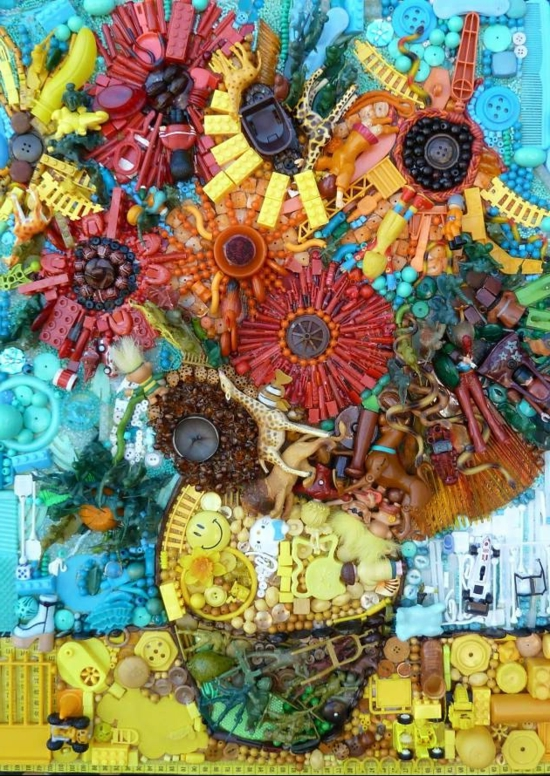 Image Result For Art And Craft With Waste Materials