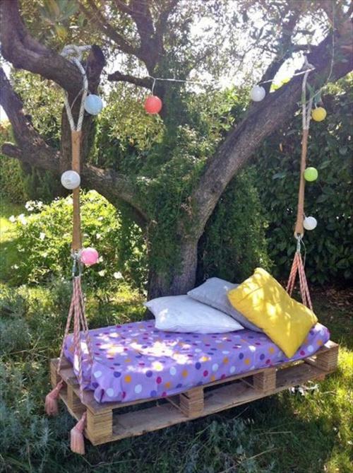 Quoka Gartenmobel Stuttgart : DIY Schaukel aus Europaletten  25 märchenhafte Ideen für Sie