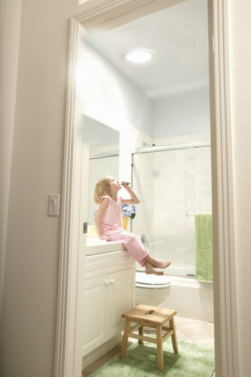 Dachfenster zu Hause küche licht hell badezimmer spiegel wand