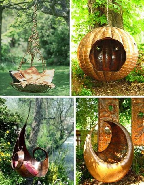prächtigen Garten gestalten bequem sitzen märchenhaft