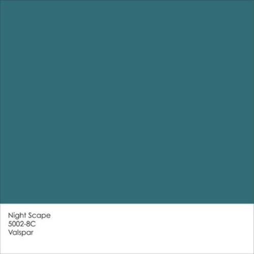 farbpaletten 2014 blau night scape valspar - Farbpalette Blau