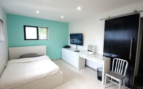 farben 2014 modern schlafzimmer jugendliche urban wei einrichtung - Schlafzimmer Farben Modern