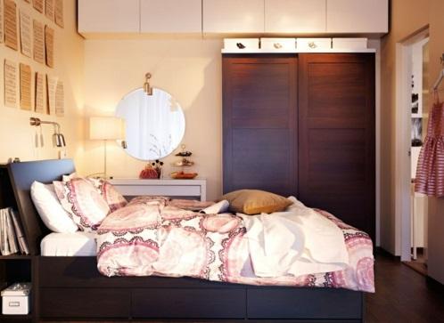 Garderobe fürs Schlafzimmer bettwäsche elegant