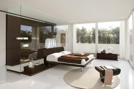 Garderobe fürs Schlafzimmer eingebaut wandgestaltung