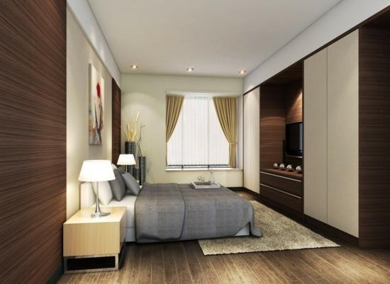 Kleiderschrank fürs Schlafzimmer elegant tischlampen