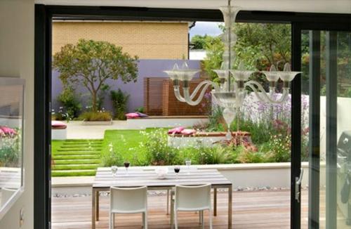 Garten und Landschaftsbau esstisch stühle fenster