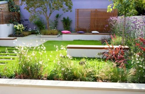Garten und Landschaftsbau pflanzen blumen kissen