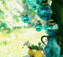 Bunte Ideen für Ihre Gartendeko und Ihr Gartenzubehör