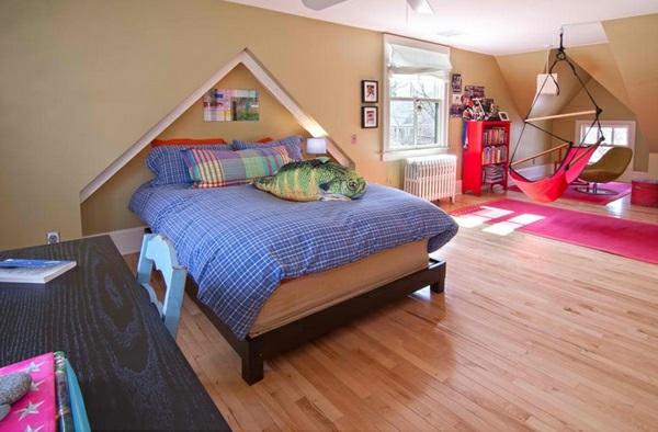 Hinreißender Schaukelstuhl im Schlafzimmer modern einrichtung
