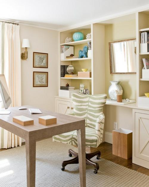 Home Office tisch sessel bequem arbeitsbüro