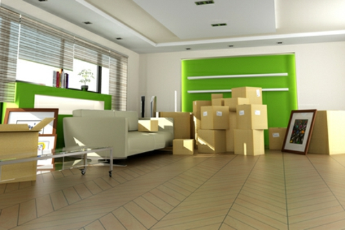 neues apartment grün wandgestaltung bodenbelag