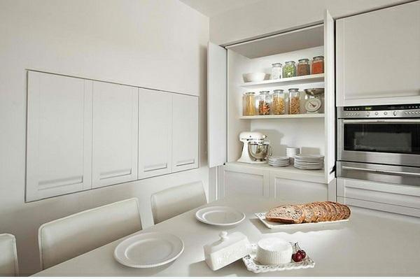 Küchenideen weiße küche