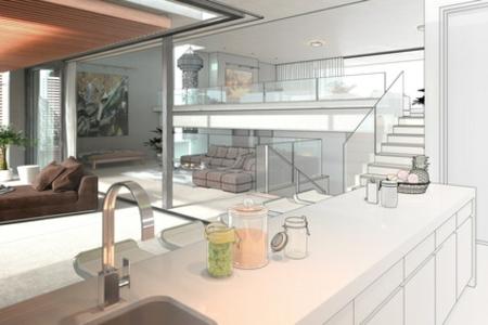 luxus küche virtuell einrichten küchendesigns 2014