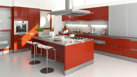 Rote Küche Küchentrends 2014 design modern