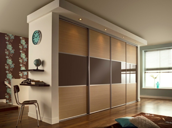 kleiderschrank mit schiebet ren originelle vorschl ge f r ihr. Black Bedroom Furniture Sets. Home Design Ideas
