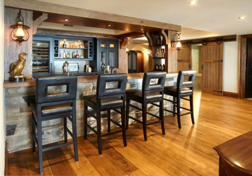 Landhausstil zu Hause populär einrichtungsideen küche stühle