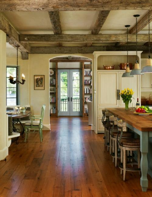 Landhausstil zu Hause populär einrichtungsideen küche