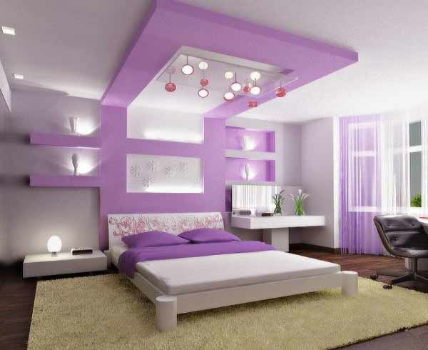 Schlafzimmer Modern Lila Weis : Cute Bedroom Ideas for Tweens