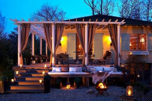 Moderne Terrasse Gestalten Nachhaltige Gartenm 246 Bel