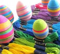 Ostereier dekorieren: Einfache Ideen mit kurzen Anleitungen