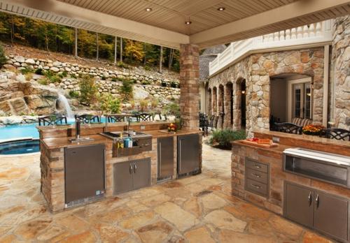 Outdoor Küche Unterbau : Wie sie alleine eine outdoor küche im außenbereich errichten können