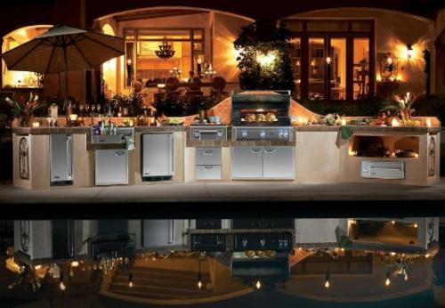 Stunning Küche Mit Grill Ideas - Milbank.us - milbank.us