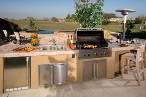 Steingrill Outdoor Küche : Outdoor küche mit grillkamin palazzetti outdoor küche ariel