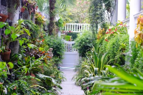 Prächtige Gartengestaltung eigenart charakter  fußweg